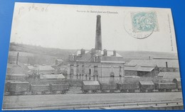 Saint Just En Chaussée - Sucrerie - Train Devant - Saint Just En Chaussee
