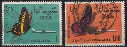 SOMALIA - Posta Aerea; Lotto 2 Valori Usati: Yvert 10 E 11. - Somalia (1960-...)