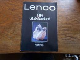 Catalogue Belgique Lenco Hi-Fi 1978/9 Burgdorf 10p (version Néerlandaise) - Musique & Instruments