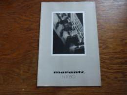 Catalogue Belgique Marantz Hi-Fi 1980  16p (version En Français) - Musique & Instruments