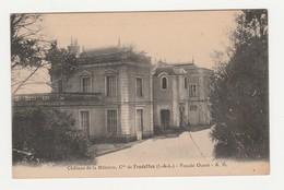 Château De La Billetrie,Cne De Fondettes.37.Indre Et Loire.Façade Ouest. - Fondettes