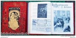 *LA ILUSTRACION ARTISTICA* ANO 1892 COMPLETA / 2LIBROS - Revues & Journaux