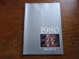 Catalogue Belgique Sony Hi-Fi 1980  116p (version En Français) - Musique & Instruments