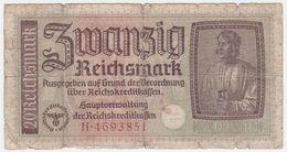 Germany P R139 - 20 Reichsmark 1940 - Fine - [ 4] 1933-1945 : Terzo  Reich