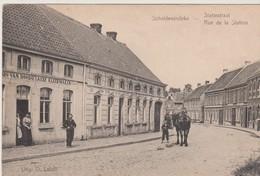 Scheldewindeke Bij Oosterzele, Statiestraat, Rue De La Station - Oosterzele