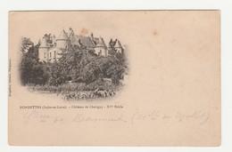 Fondettes.37.Indre Et Loire.Château De Chatigny.XVe Siècle. - Fondettes