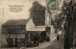 75 - PARIS - Montmartre - Le Cabaret Du Lapin Agile, Le Plus Vieux De Montmartre - Distrito: 18