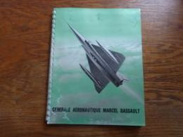 Catalogue Aviation GADM Marcel Dassault Photos Fabrication Mirage Flamant Ouragan Mystère Etendard 38p - Aviation