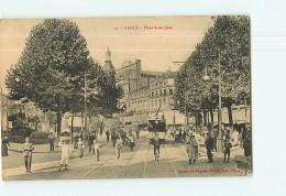 NANCY - Place Saint Jean -  Beau Plan Animé -  2 Scans - Nancy