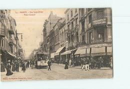 NANCY - Rue Saint Dizier - Beau Plan Du TRAMWAY - Devanture R. Walter -  Beau Plan Animé -  2 Scans - Nancy