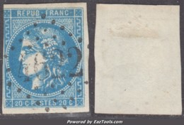 *RARE* GC 4622 (Sept-Fonds, Tarn-et-Garonne (85)), Cote 90€ (+25€ Pour Le Timbre, N° 46B) - Marcophilie (Timbres Détachés)
