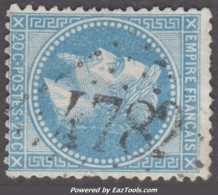 *RARE* GC 4782 (Montigny-lès-Metz, Moselle (55)), Cote 120€ - 1849-1876: Klassieke Periode