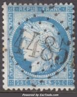GC 4485 (Coarraze, Basses-Pyrénées (64)), Cote 15€ - Marcophilie (Timbres Détachés)