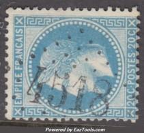GC 4518 (Bligny, Aube (9)), Cote 30€ - 1849-1876: Klassieke Periode