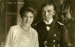 V. MUCKE Mit GEMAHLIN PHOTO Oskar Brockshus - Politicians & Soldiers