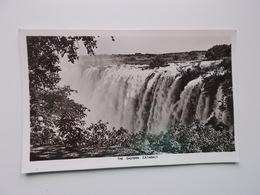 Vintage Card -  VICTORIA FALLS / THE EASTERN CATARACT - Zimbabwe
