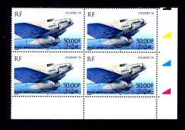 FRANCE - 2000 - PA  N°64 - Bloc De 4 Coin Daté - NEUF LUXE **/ MNH - Cdf, TB - Dated Corners
