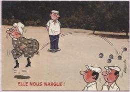 CPM - ILLUSTRATION ALEXANDRE - Série BOULES - Edition LYNA Paris  / N°820-2 - Alexandre