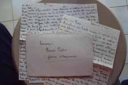 STORIA POSTALE PARTIGIANI OCCUPAZIONE ISTRIA TRIESTE LETTERA DA ZABRONI SANVINCENTI 1945 CONSEGNATA A MANO PARTIGIANO - 5. 1944-46 Luogotenenza & Umberto II