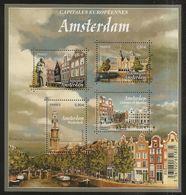 2016 - Bloc Feuillet F 5090  AMSTERDAM Capitale Européenne NEUF** LUXE MNH - Sheetlets