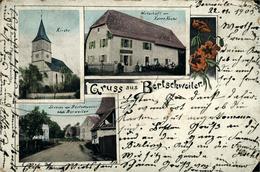 BERTSCHWILLER (Village Qui N'existe Plus) Voir BERRWILLER Chromolitho 1903 En L'état - France