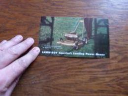 Petit Folder Pub Tondeuse à Gazon Jardinage Lawn-boy - Publicité