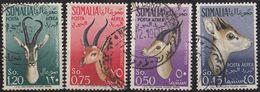 SOMALIA - 1955 - Lotto Di Quattro Valori Obliterati Posta Aerea Yvert 54/57. - Somalia (AFIS)