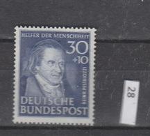 Deutschland  BRD **  146 Helfer Der Menschheit Katalog 110,00 - Ungebraucht