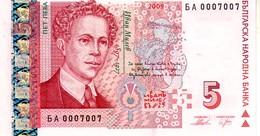 Bulgaria P.115b 5 Levv 2009 Unc - Bulgaria