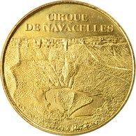 France, Jeton, Jeton Touristique, Saint-Maurice-Navacelles - Cirque De - Frankrijk