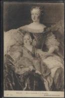 CPA - MARIE LEOZINSKA Et Le DAUPHIN - Tableau BELLE - Edition L.L. - Famous Ladies