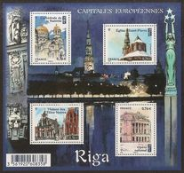 2015 - Bloc Feuillet F4938  RIGA  Capitale Européenne N° 4938 NEUF** LUXE MNH - Sheetlets