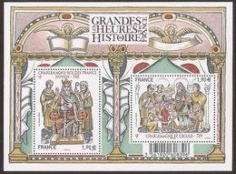 2015 - Bloc Feuillet F4943  Les GRANDES HEURES De L'HISTOIRE N° 4943 NEUF** LUXE MNH - Sheetlets