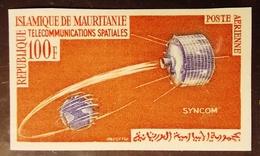 MAURITANIE . YT  PA 28 Non Dentelé Neuf **  TELECOMMUNICATIONS SPATIALES 100 F - Mauritanie (1960-...)