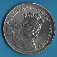POLAND 50 Zlotych 1980 KM# 114 BOLESŁAW I CHROBRY  992 - 1025 - Pologne