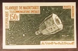 MAURITANIE . YT  PA 29 Non Dentelé Neuf **  TELECOMMUNICATIONS SPATIALES 150 F - Mauritanie (1960-...)