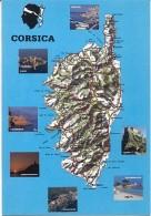 CPM - CORSE - Edition Desjobert - Cartes Géographiques