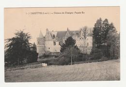 Fondettes.37.Indre Et Loire.Château De Chatigny.Façade Est. - Fondettes