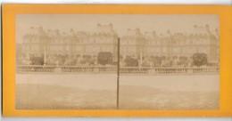 PHOTO - PARIS - PALAIS DU LUXEMBOURG - Cliché Avt 1900 - Vue Stéréo - Lieux