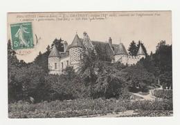 Fondettes.37.Indre Et Loire.Chatigny : Chateau (XVe Siècle),construit Sur L'emplacement D'un Castellum Gallo-romain - Fondettes