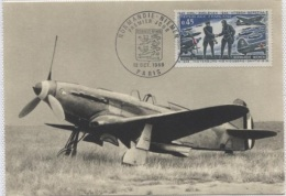 CPM - AVION YAK 3 - En Service Sur Le Front Russe De 1942 - 1945 - Edition Parison B.REgnier - 1939-1945: 2ème Guerre