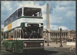 CPM - PARIS - BUS RATP PLACE DE LA CONCORDE - Edition Yvon - Buses & Coaches