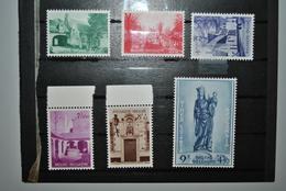 Belgique 1954 MNH Complet Envoi Recommandé Europe 5 € - Neufs