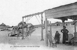 1349 - Cpa 17 Chatelaillon - Un Coin De La Plage - Châtelaillon-Plage