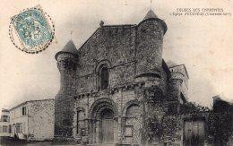 1351 - Cpa 17 L'Eglise D'Ecoyeux - Ohne Zuordnung