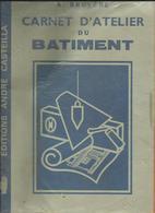 Carnet D'Atelier Du Batiment De 1983 De A  Bruyère  3 Pages  Pour Les Regles De Prudence Et 1er Soins En Cas D'Accident - Diploma & School Reports