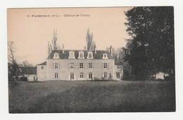 Fondettes.37.Indre Et Loire.Château De L'Essay. - Fondettes
