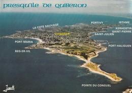 Presqu'île De Quiberon Vue Générale - Quiberon