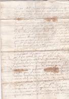 1671 - Règne De Louis XIV - Manuscrit De 3 Pages En Français Puis En Latin - Jerusalem Ordre St Jean Saint Sépulcre - Manuscripts
