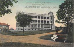 Sanatorium Lalance Près Lutterbach (Haut-Rhin) - Edition J. Kuntz - Carte Colorisée - Santé
